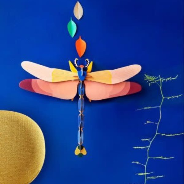 Studio Roof 3D Insect Puzzle   Deluxe   Pink Dragonfly