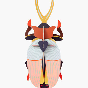 Studio Roof 3D Insect Puzzle | Deluxe | Rhinoceros Beetle
