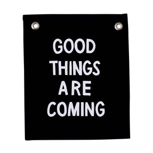 Imani Collective Banner | Good Things Are Coming
