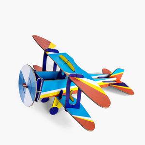 Studio Roof 3D Puzzle | Cool Classic | Biplane