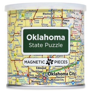 Geotoys Puzzle | Magnetic | Oklahoma