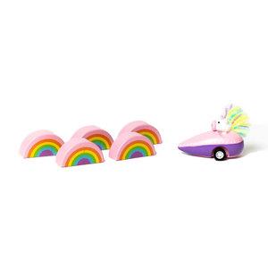 Jack Rabbit Creations Game | Bowling | Unicorn & Rainbows