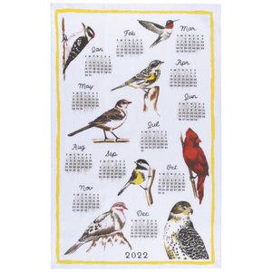 Now Designs Tea Towel | Bird Calendar | 2022