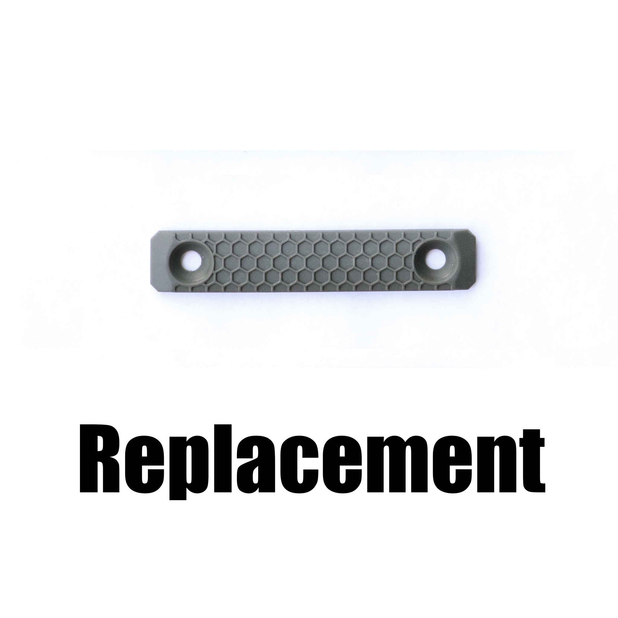 Slate Black Industries Replacement Slate Grip, 2-slot, single panel only