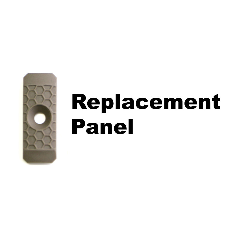 Slate Black Industries Replacement Slate Grip, 1-slot, single panel only