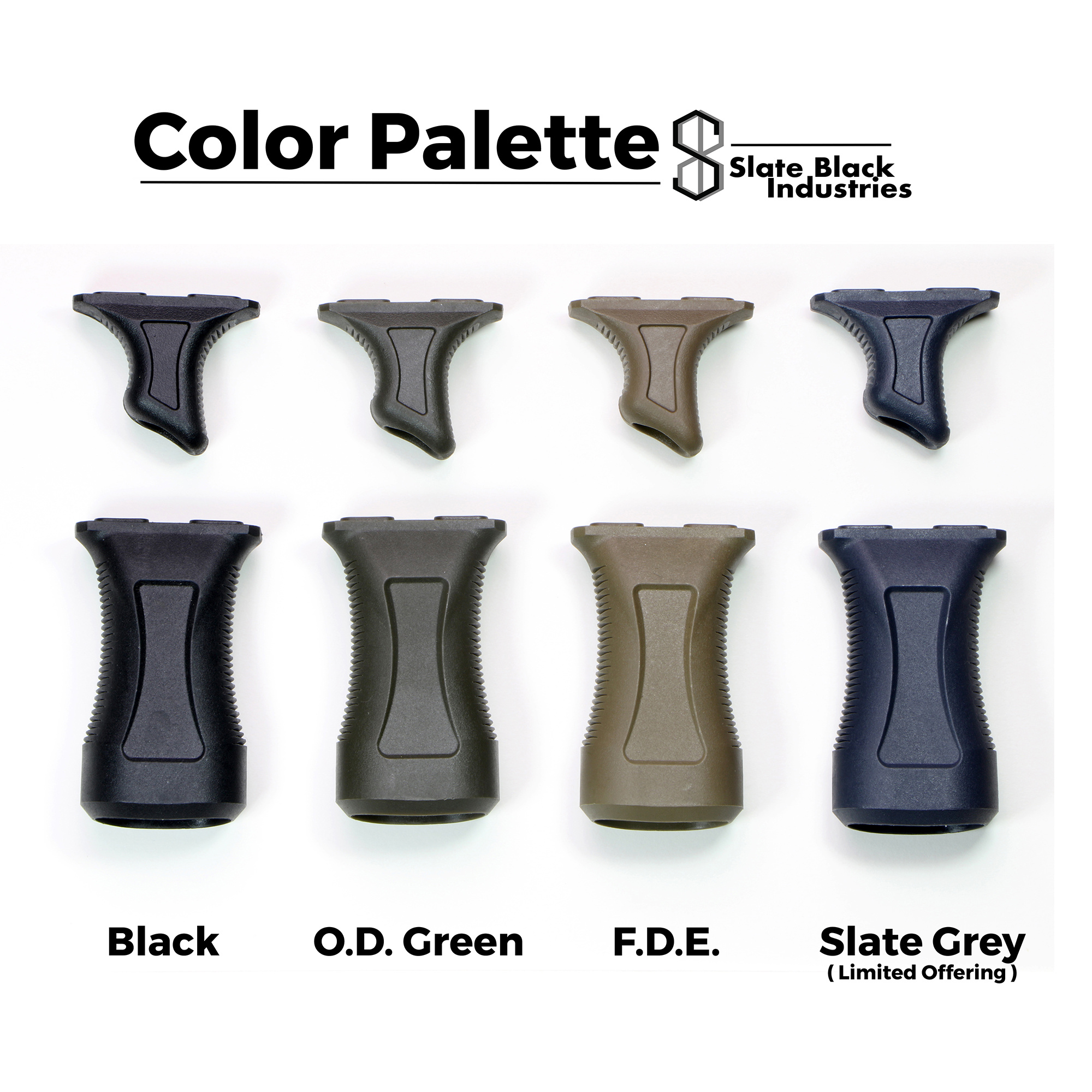 Slate Black Industries Slate Stop + Slate Grip Bundle (M-LOK)