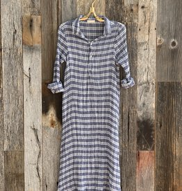 CP Shades Rumer Linen Gauze Dress