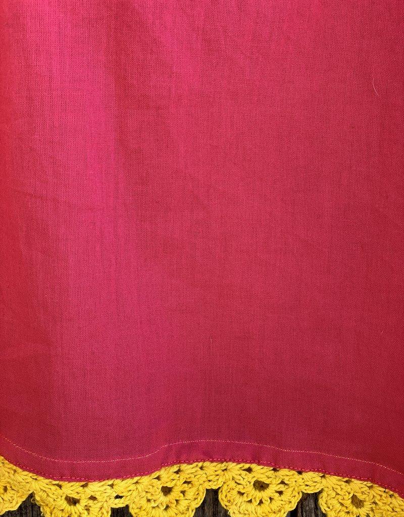 Injiri Injiri Bright Pink Teej Slip