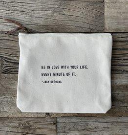 Sugarboo Zip Bag - Jack Kerouac