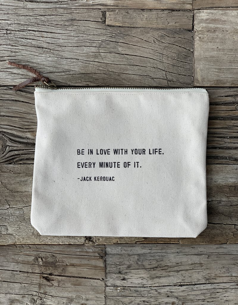 Sugarboo Sugarboo Zip Bag - Jack Kerouac