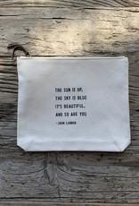 Sugarboo Sugarboo Zip Bag - John Lennon