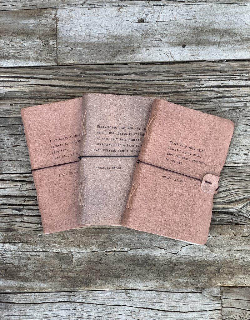Sugarboo Sugarboo Artistan Leather Journal - Helen Keller