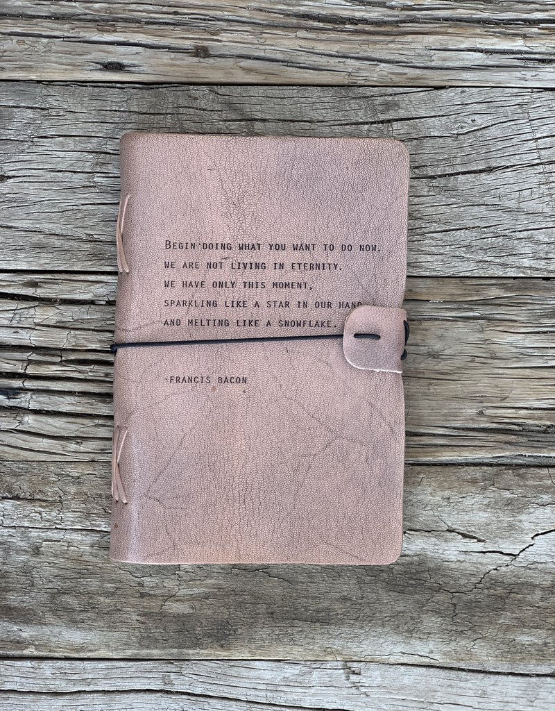 Sugarboo Sugarboo Artistan Leather Journal - Francis Bacon