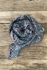 Epice Epice Printed Scarf - Blue
