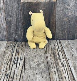 Maileg Little Hippo - Lime Yellow