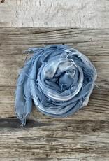 Chan Luu Chan Luu Cashmere Silk Scarf - Tie Dye Teal
