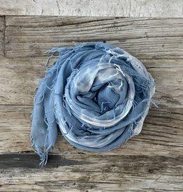 Chan Luu Cashmere Silk Scarf - Tie Dye Teal