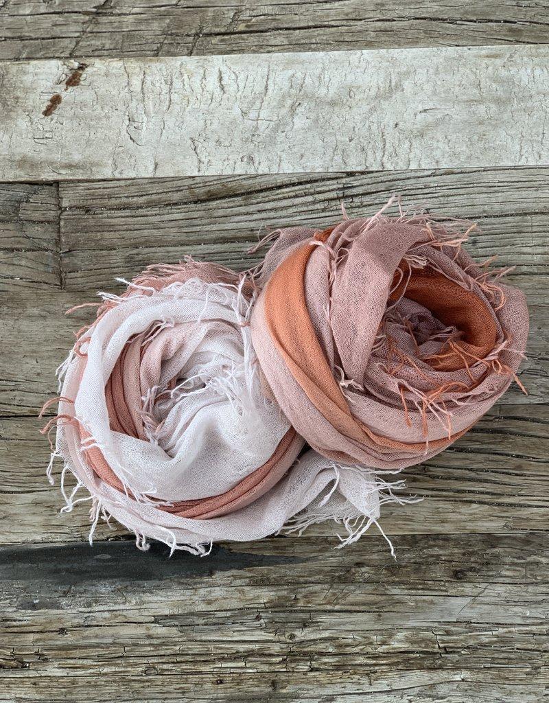 Chan Luu Chan Luu Cashmere Silk Ombre Scarf - Rose