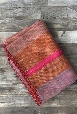 Shupaca Shupaca Heirloom Rug - Hot Pink/Orange