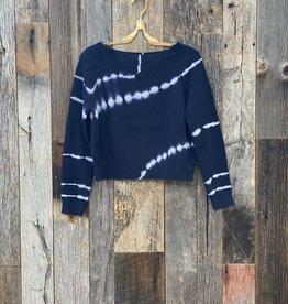 Acrobat Erin Off the Shoulder Tie Dye Sweater