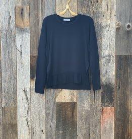 Stateside Stateside Fleece Side Slit Sweatshirt
