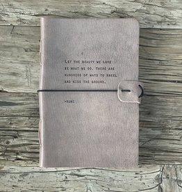 Sugarboo Sugarboo Artistan Leather Journal - Rumi