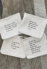 Sugarboo Sugarboo Zip Bag - Kiss Your Life