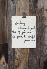 Sugarboo Sugarboo Paper Print - Darling