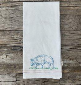Leo's Dry Goods Leo's Dry Goods Tea Towel - Animal 004