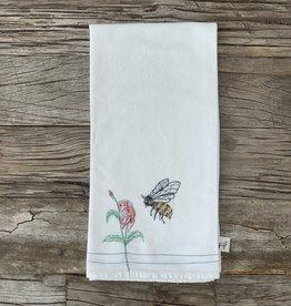 Leo's Dry Goods Leo's Dry Goods Tea Towel - Bee 001