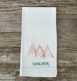 Leo's Dry Goods Leo's Dry Goods Tea Towel - Boulder 001