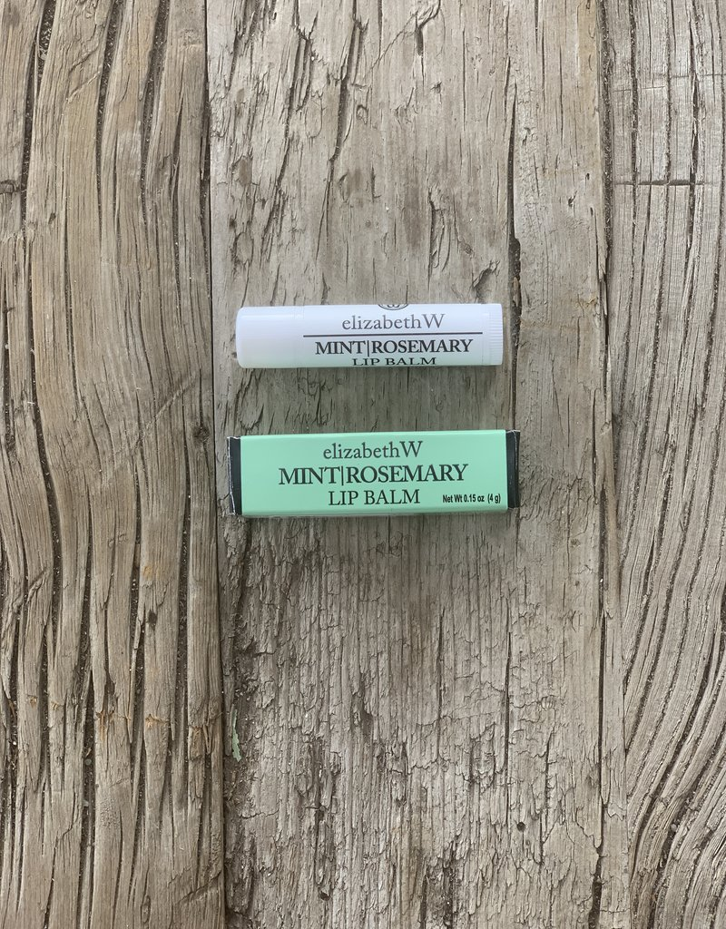 Elizabeth W & Co Elizabeth W Lip Balm - Mint/Rosemary