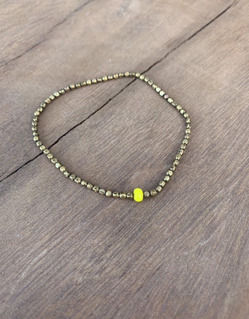Leap Jewelry Bracelet Brass 001