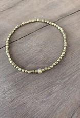 Leap Jewelry Bracelet Brass 003