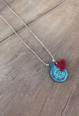 Leap Jewelry Necklace Brass Pendant 003