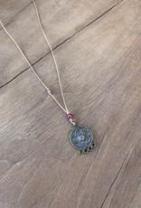 Leap Jewelry Necklace Brass Pendant 004
