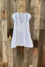CP Shades CP Shades Regina Cap Sleeve Striped Tunic