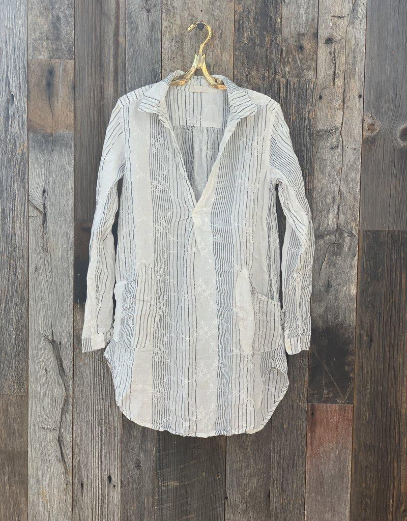 CP Shades CP Shades Teton Embroidered Linen Tunic