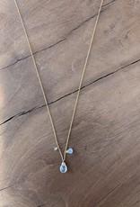 Leah Alexandra Jewelry Leah Alexandra Isabel Neck - AQM.GOLD