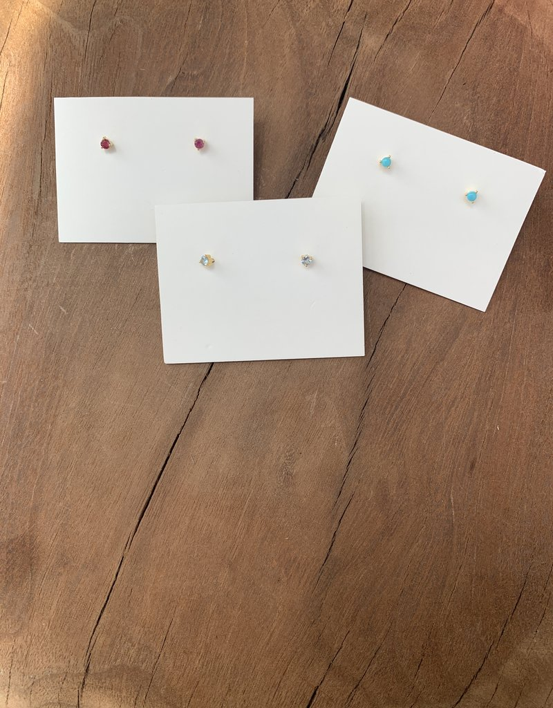 Leah Alexandra Jewelry Leah Alexandra Element Studs - AQM