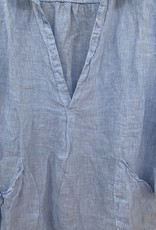 CP Shades CP Shades Linen Teton - Light Blue Stripe