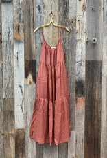 Annam Clothier Annam Clothier Cate Tiered Tank Dress