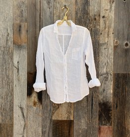 CP Shades CP Shades Linen Sloane Button Up Top