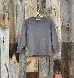 Stateside Stateside Slub Sweatshirt Tee - Charcoal