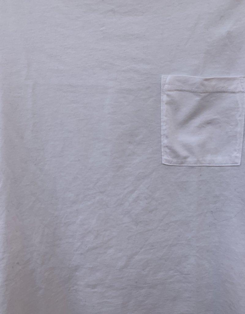 Stateside Stateside Royal Supima Mock Neck - White