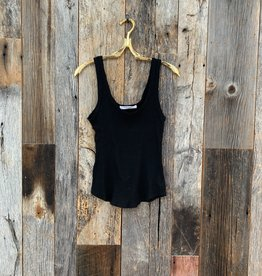 Project Social T Project Social T Bring It Back Rib Tank - Black