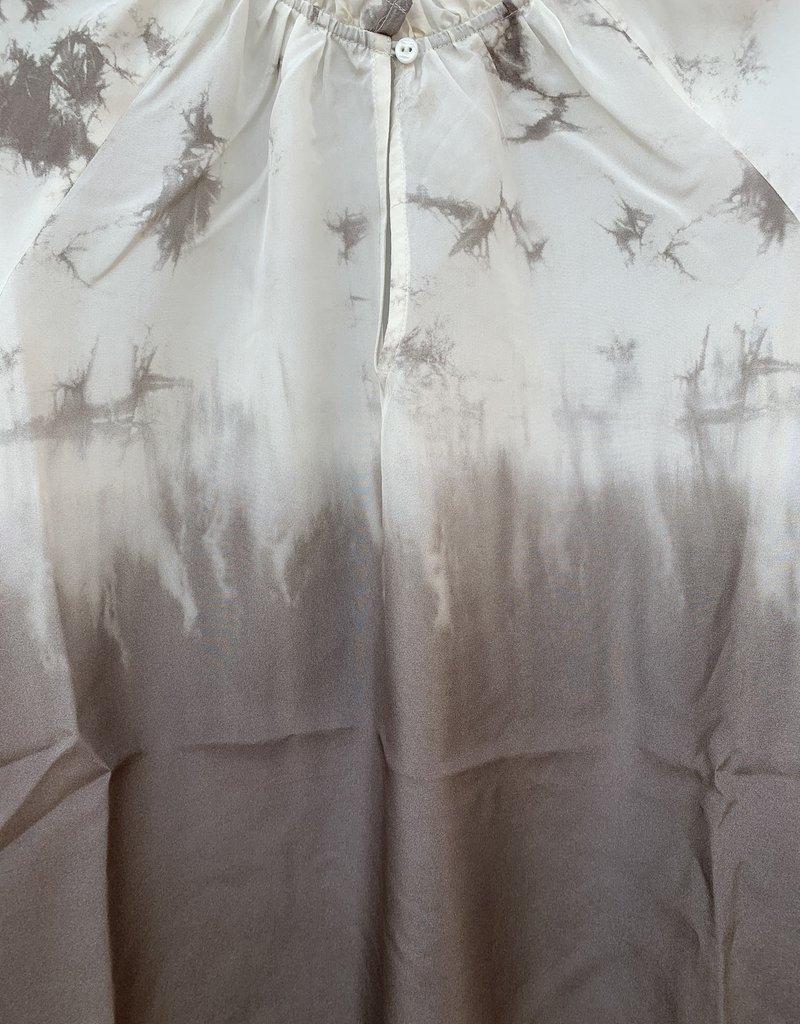 Go Silk Go Silk Go Attention to Detail Peasant - Tie Dye Suede