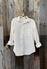 CP Shades CP Shades Joss Cord Button Down - Ivory
