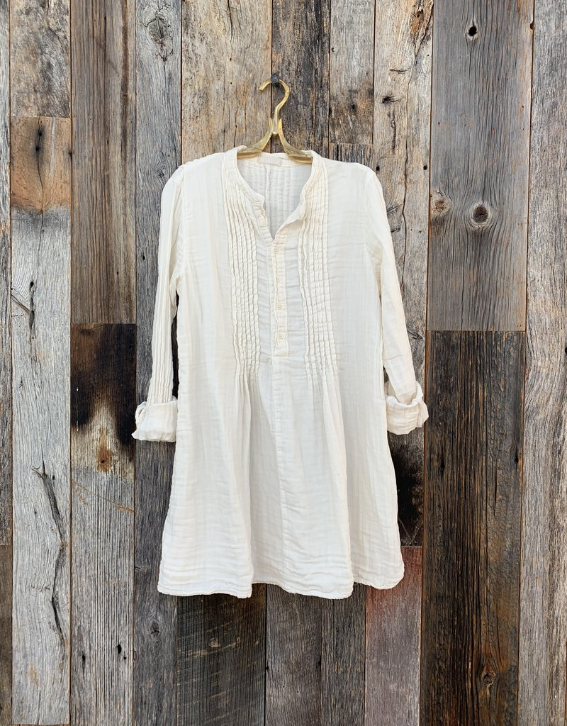 CP Shades CP Shades Double Cotton Yoko Dress - Ivory