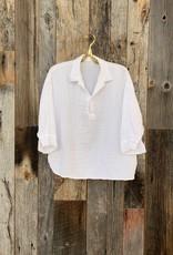 CP Shades CP Shades Double Cotton GiGi Top - White